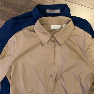 Two button down shirts! Great condition!!